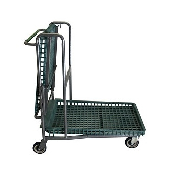 Flip Top Garden Center Cart