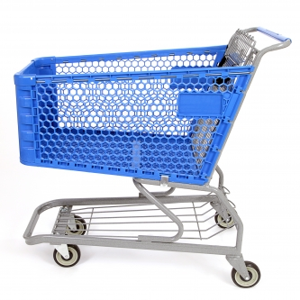 Large Plastic Supermarket Shopping Cart #650