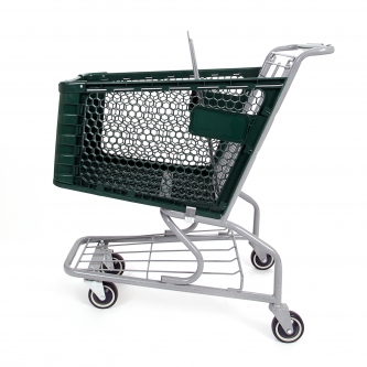 Small Plastic Grocery Shopping Cart #150