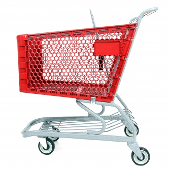 Medium Plastic Grocery Shopping Cart #550