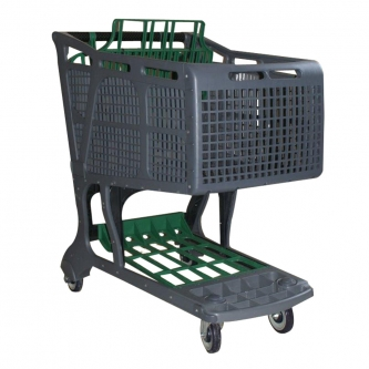 All-Plastic Shopping Cart  Model #1575